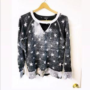 Torrid | Long sleeve Star Print Sweater